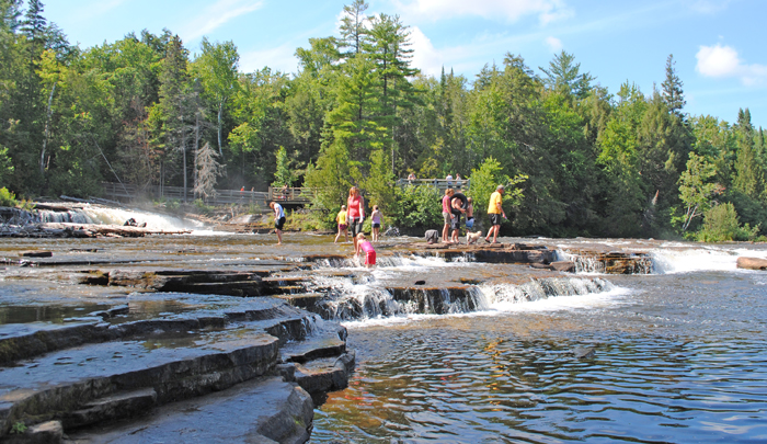 Located just 22 miles north of Duffy's Motel and 4 miles north of the Upper Falls is the Lower Tahquamenon Falls.  Lower Tahquamenon Falls has so much to experience.